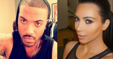 Ray J Addresses Audio of Him Talking About Kim K's Smelly Lady Parts