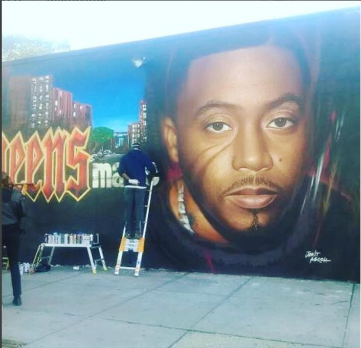 nas gets a mural in his hometown of queensbridge preciseearz