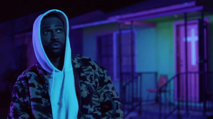 Big sean halfway off the balcony music video for The balcony music