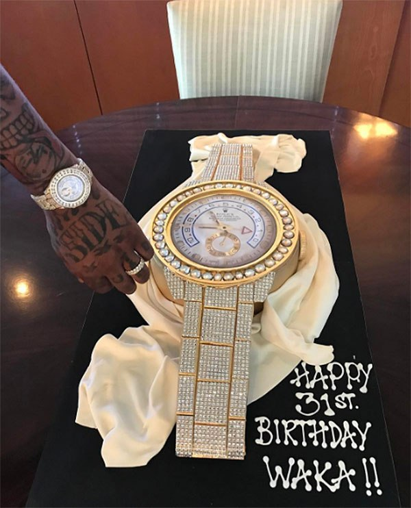 Waka Flocka Birthday Cake